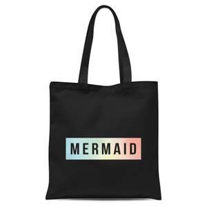 Mermaid Tote Bag - Black