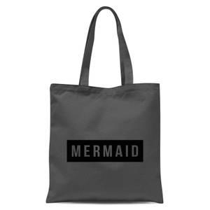 Mermaid Tote Bag - Grey