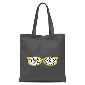 Glasses Tote Bag - Grey