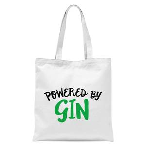 Powered By Gin Tote Bag - White