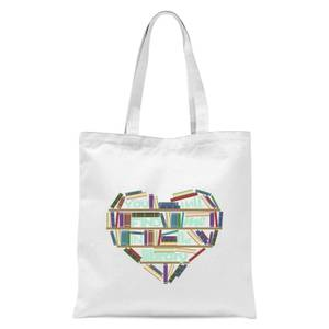 You Will Find Me In The Library Tote Bag - White