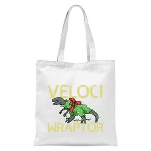 Veloci Wraptor Tote Bag - White