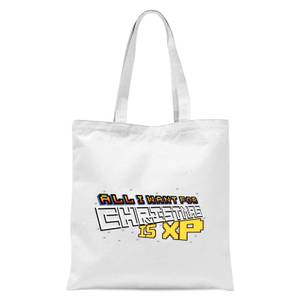 All I Want For Xmas Is XP Tote Bag - White