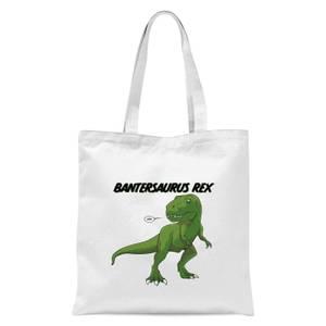 Bantersaurus Rex Tote Bag - White