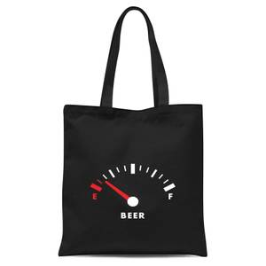Beer Fuel Tote Bag - Black