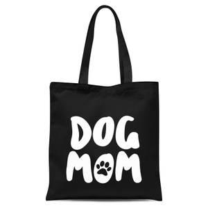 Dog Mom Tote Bag - Black