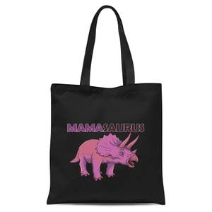 Mama Saurus Tote Bag - Black