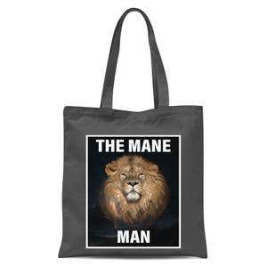 The Mane Man Tote Bag - Grey