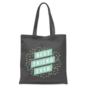 Best Friend Ever Tote Bag - Grey