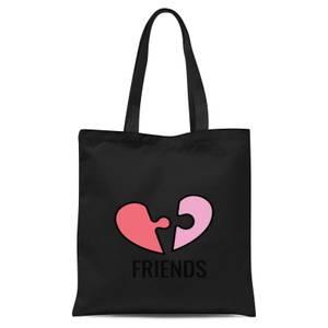 Friends Tote Bag - Black