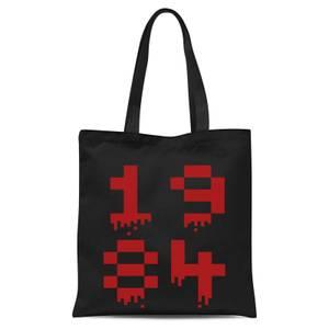 1984 Gaming Tote Bag - Black