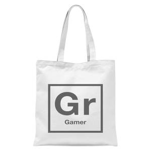 Periodic Gamer Tote Bag - White