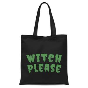 Witch Please Tote Bag - Black