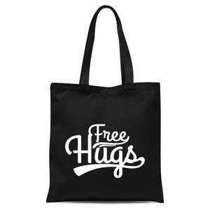 Free Hugs Tote Bag - Black