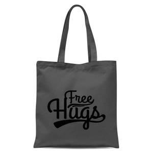 Free Hugs Tote Bag - Grey