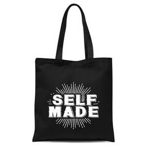 Self Made Tote Bag - Black