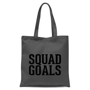 Squad Goals Tote Bag - Grey