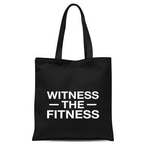 Witness The Fitness Tote Bag - Black