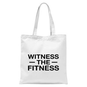 Witness The Fitness Tote Bag - White