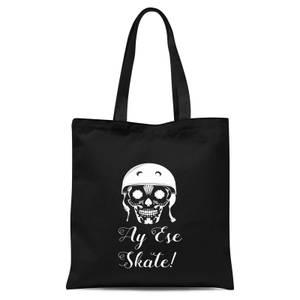 Ay Ese Skate Tote Bag - Black