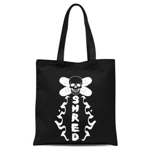 Shred Skateboards Tote Bag - Black