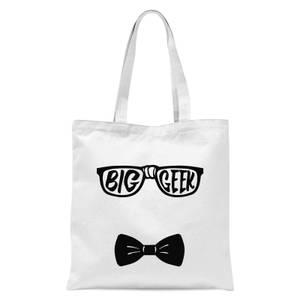 Big Geek Tote Bag - White
