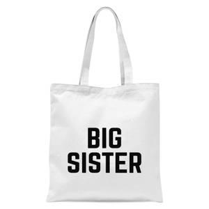 Big Sister Tote Bag - White