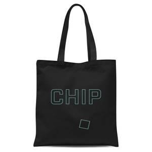 Chip Tote Bag - Black