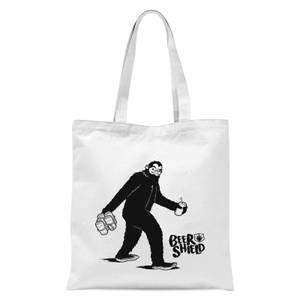 Bigfoot Tote Bag - White