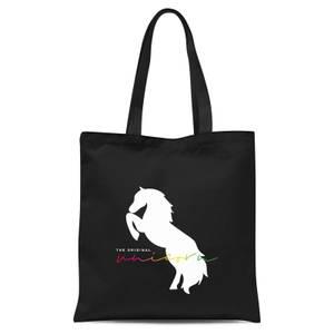 The Original Unicorn Tote Bag - Black