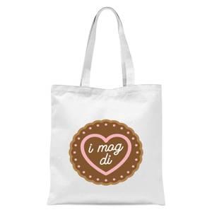 I Mog Di Tote Bag - White