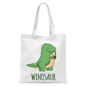 Winosaur Tote Bag - White