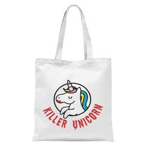 Killer Unicorn Tote Bag - White