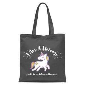 International Women's Day I Am A Unicorn Tote Bag - Grey