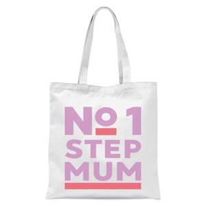 International Women's Day No.1 Stepmum Tote Bag - White