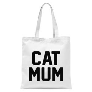 International Women's Day Cat Mum Tote Bag - White