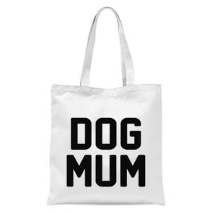 International Women's Day Dog Mum Tote Bag - White