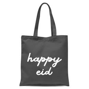 International Women's Day Happy Eid Tote Bag - Grey