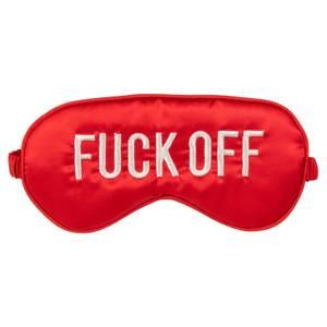 F*ck Eye Mask - Red