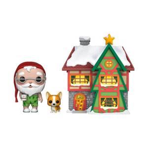 Pop! Holiday - Casa di Babbo Natale e Nutmeg Figura Pop! Town