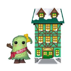 Pop! Holiday Town Hall with Mayor Patty Noble Funko Pop! Town