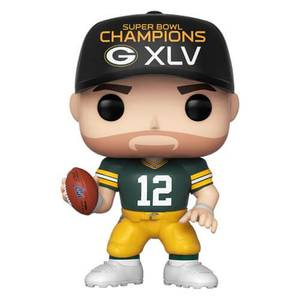 Figurine Pop! Aaron Rodgers (Superbowl XLV Champions) - NFL Packers