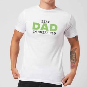 Best Dad In Sheffield Men's T-Shirt - White