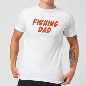 Fishing Dad Men's T-Shirt - White
