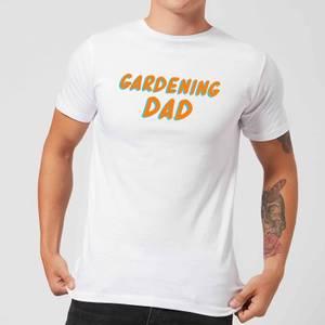 Gardening Dad Men's T-Shirt - White