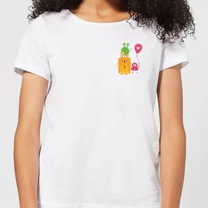 Monster Family Women's T-Shirt - White