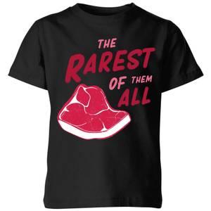 The Rarest Of Them All Kids' T-Shirt - Black