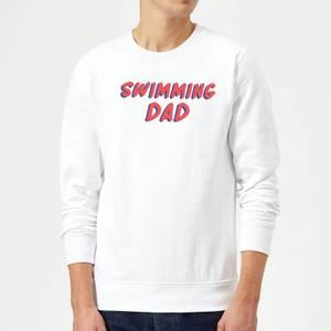 Swimming Dad Sweatshirt - White