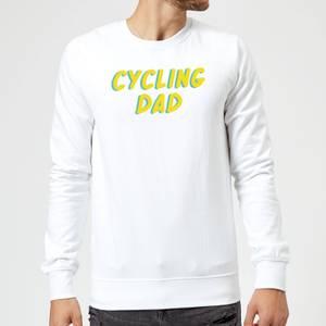 Cycling Dad Sweatshirt - White
