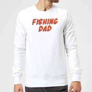 Fishing Dad Sweatshirt - White
